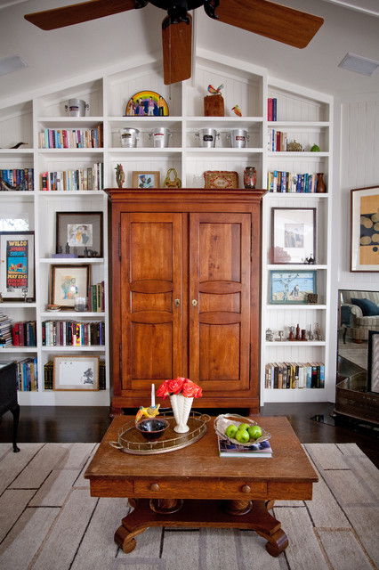 Andrea May Hunter Gatherer eclectic-living-room