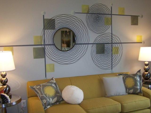 Modern Living Room Murals anita roll - modern - living room - atlanta -anita roll murals