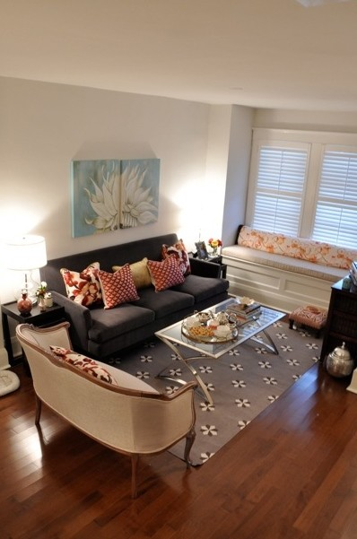 Anne-Marie Living Room eclectic-living-room