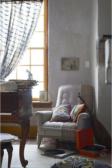 Anthropologie Living Room Style Images