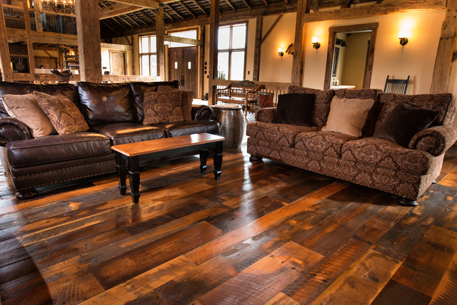 Antique Historic Plank Flooring