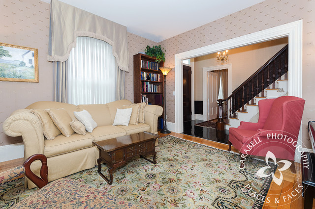 antique portsmouth nh home traditional living room