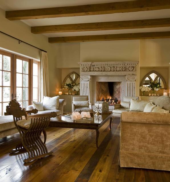 Antique Sitting Area - American Southwest - Living Room ...
