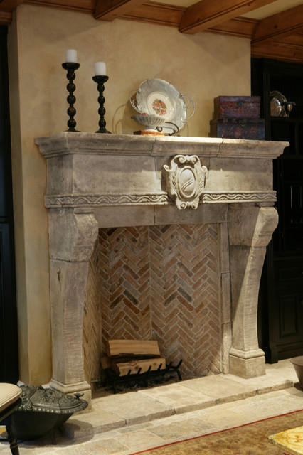 antique stone fireplace mantels living room los