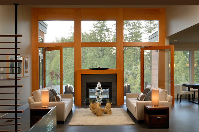 Anya Lane - Contemporary - Living Room - Vancouver - by ...