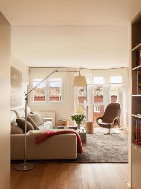Apartamento en Arturo Soria nordico-salon