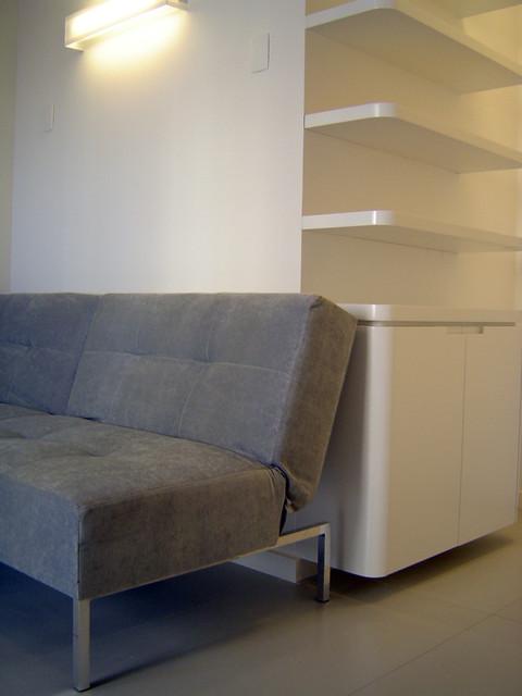 Apartamento Vila Nova Conceição contemporary-living-room