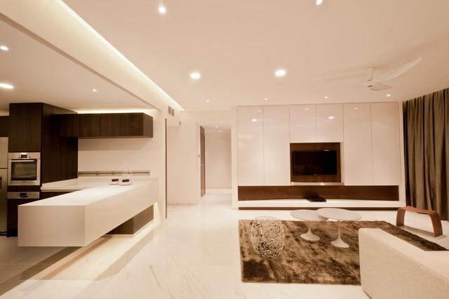 Apartment at Spring Grove -Singapore contemporary-living-room