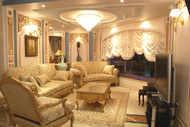 apartment cairo egypt traditional living room