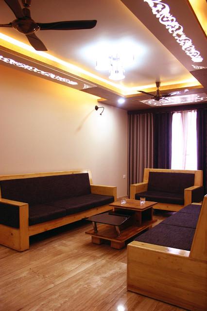 Apartment contemporary-living-room