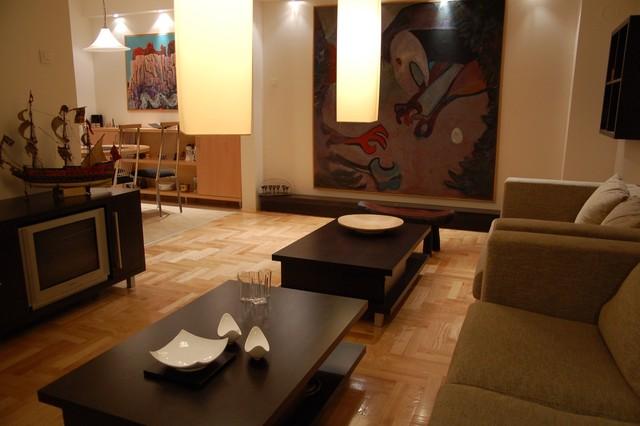 Apartment Fontana, New Belgrade modern-living-room