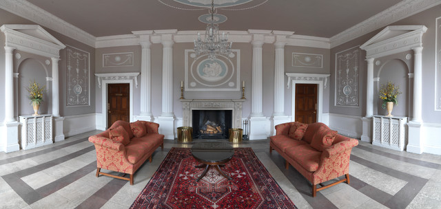 Icon Interiors Ltd Interior Designers Decorators Apartment In A Robert Adam Country House Traditional Living Room