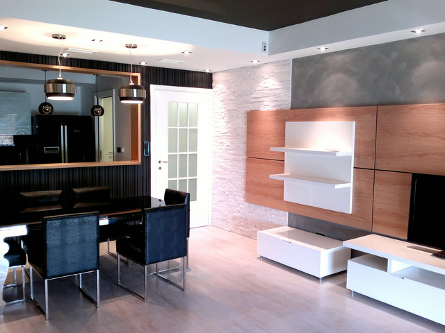 Apartment  in Podgorica, Montenegro contemporary-living-room