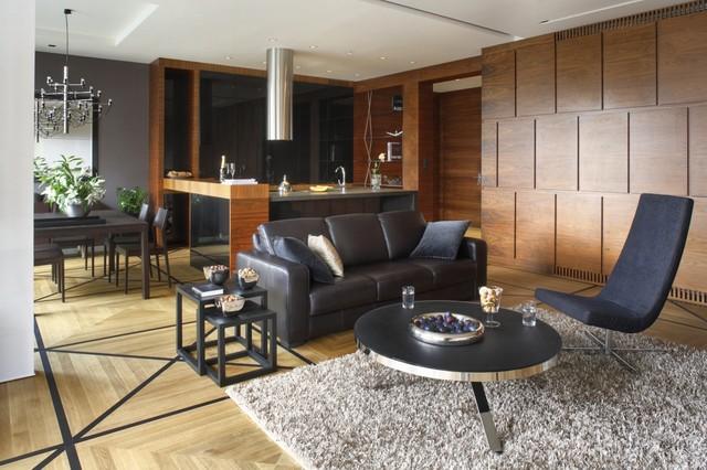 Apartment near the park contemporary-living-room
