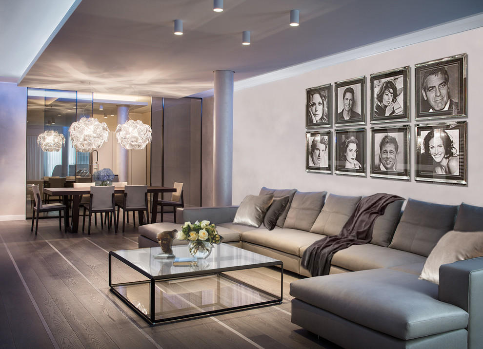 Apartments in Milan, Italy - Contemporary - Living Room ...