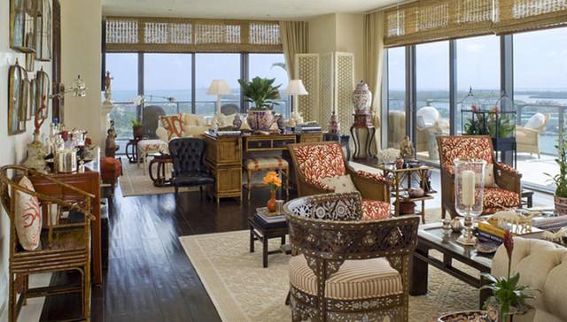 APOGEE asian-living-room