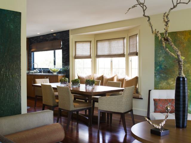 Applegate Tran Interiors contemporary-living-room