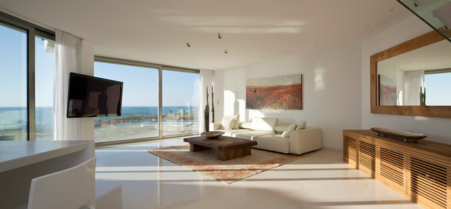modern living room by Gerstner