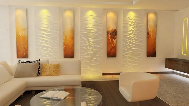 Arabian ranches villa for Arabian living room ideas