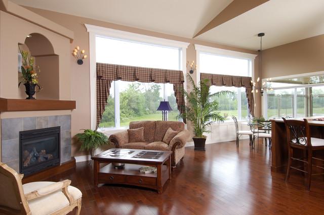 Arbourbrook Estates Model Home traditional-living-room