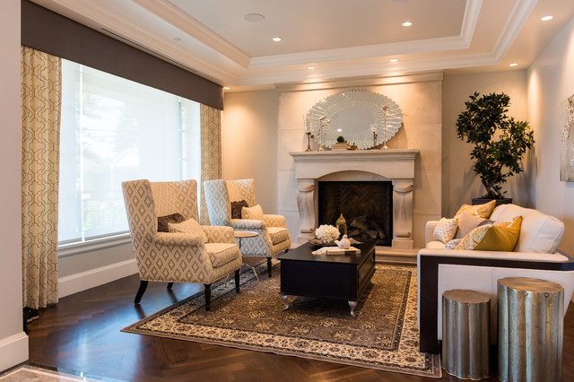 Arbutus - Classic Luxury - Transitional - Living Room - Vancouver ...