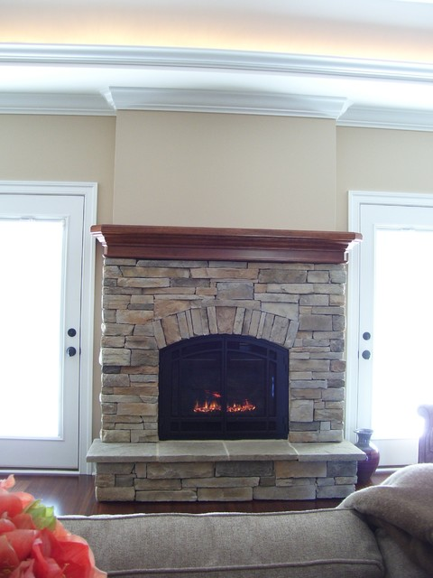 Arched fireplace - Traditional - Living Room - Other - by ...