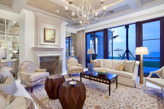 Architectural Details Transitional Living Room Other Metro By Ibi Designs