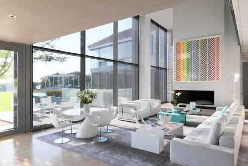 Architectural Digest East Hampton residence