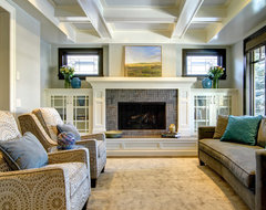 Architectural Elegance craftsman-family-room