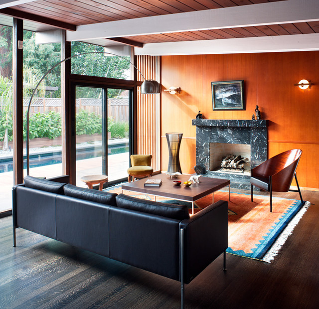 Architectural Images contemporary-living-room