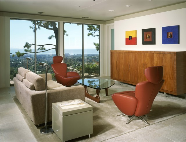 Modern in the Hills modern-living-room