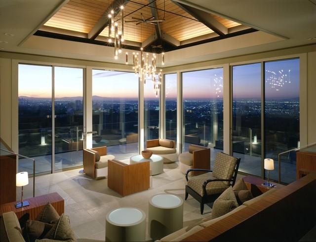 Modern in the Hills modern-living-room