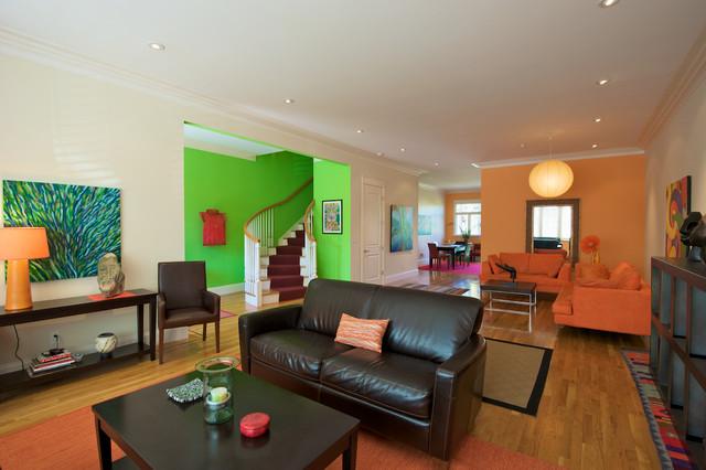Architecture and Interior Design contemporary-living-room