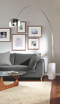 Arco floor lamp by rb arco floor lamp by rb modern living room aloadofball Images