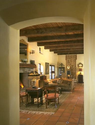 Arcure mediterranean-living-room