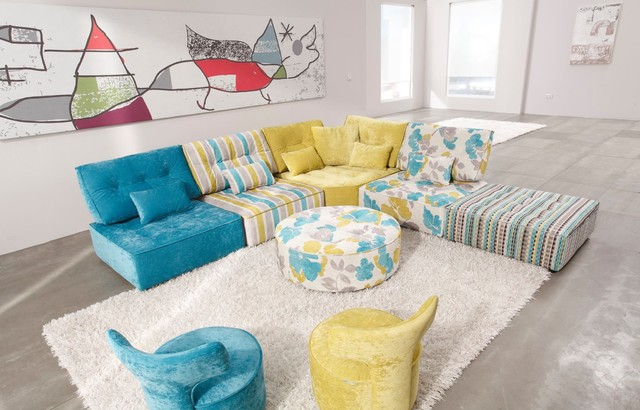 Arianne Love Fabric Modular Sofa by Famaliving contemporary living roomArianne Love Fabric Modular Sofa by Famaliving   Contemporary  . Fama Furniture Spain. Home Design Ideas
