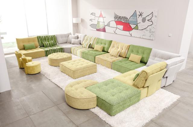 Arianne Love Modular Fabric Sectional