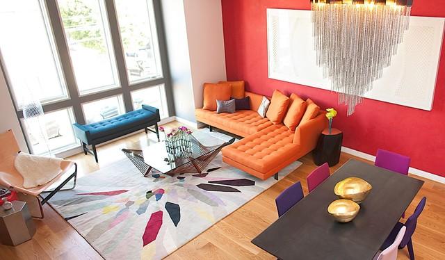 Ariel Living Room View contemporary-living-room