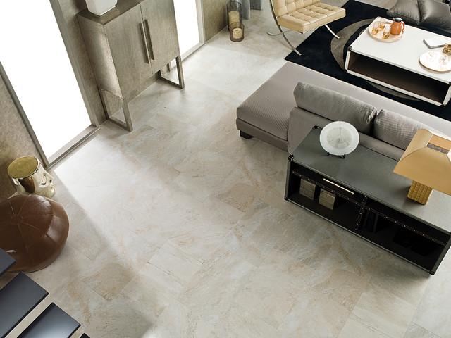 arizona caliza living room by porcelanosa. Black Bedroom Furniture Sets. Home Design Ideas