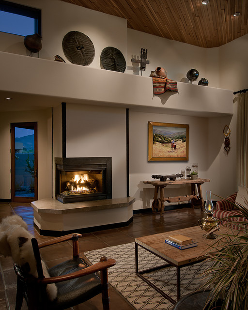 Interior Designers & Decorators. Arizona Ranch southwestern-family-room