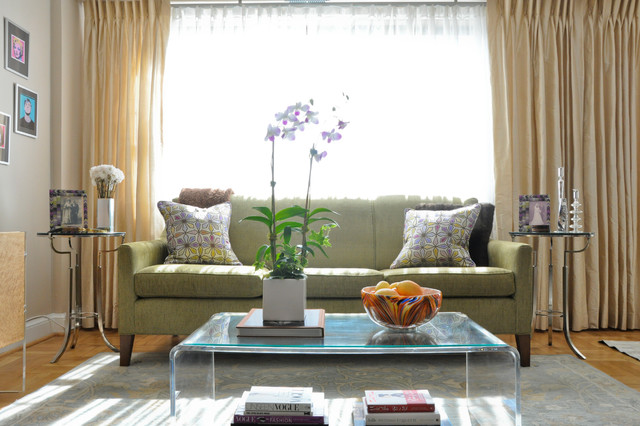 Arlington Condo - Transitional - Living Room - DC Metro - by CM Glover