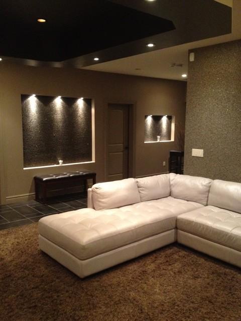 Arlington Esates lower level contemporary-living-room