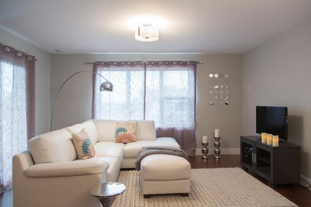 Arlington Model Suite contemporary-living-room