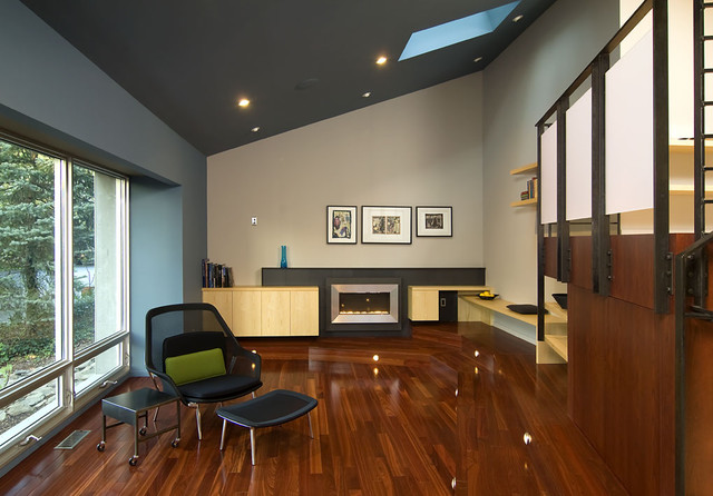 Living Room Vaulted Ceiling Houzz - Decorating rooms with vaulted ceilings