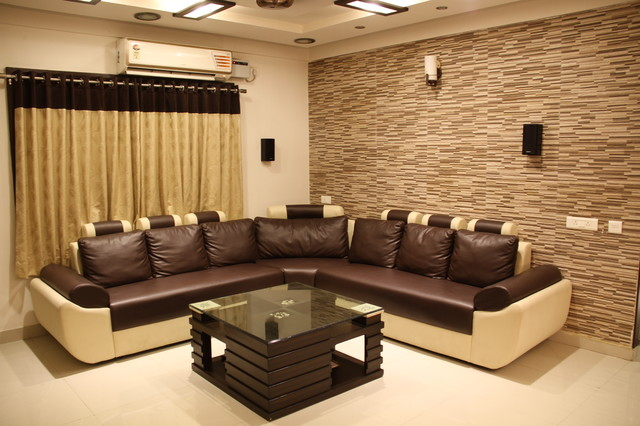 Armsburg My Space Flat 216 - Contemporary - Living Room - Hyderabad - By THINK INTERIO
