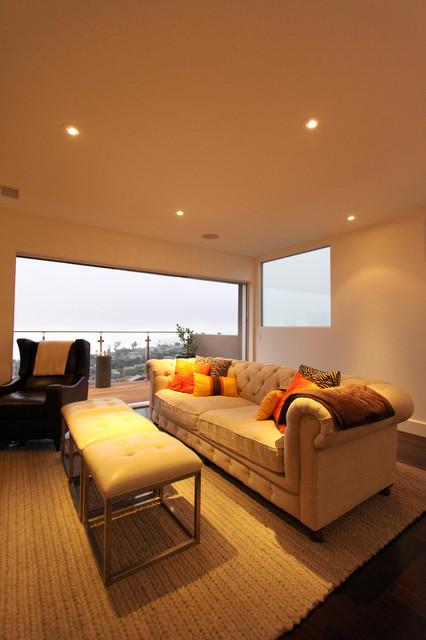 Armstong Residence modern-living-room