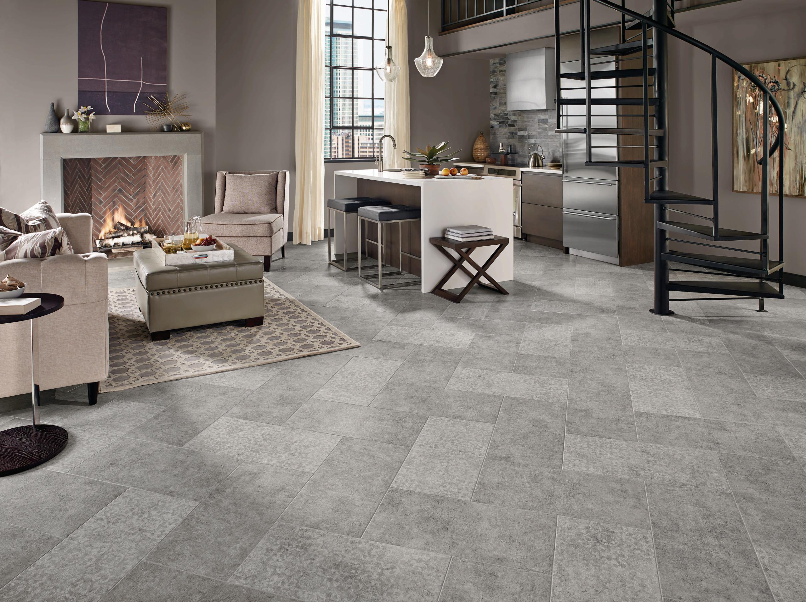 Gray Tile Living Room Ideas Photos Houzz