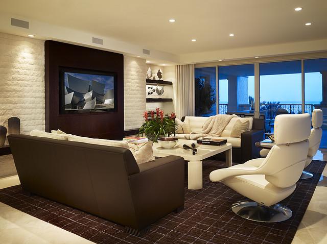 arnold schulman contemporary living room miami by arnold