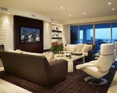 Arnold Schulman contemporary-living-room