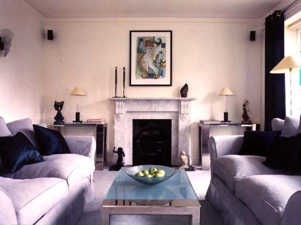 Art Deco Living Room Traditional Living Room London By